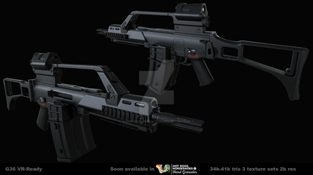 G36 short | VR by Artificialproduction