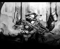 Mastercheif in halo 4 by Spartanwarlord