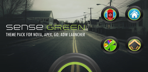 Sense Green Theme Pack for Android by bagarwa