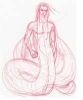 Scribble101 - Male Naga Generic1 by frisket17
