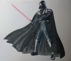 Darth Vader by ShadowDragon6114