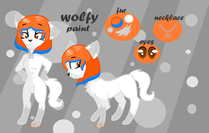 Wolfy Paint Ref by superwolflove12