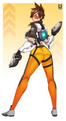 Tracer Fanart by Kyoffie12