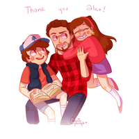 THANK YOU ALEX by CosmicPonye