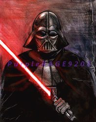 Darth Vader by PurpleRAGE9205