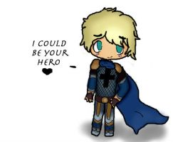 I Could Be Your Hero  by puppylover122222