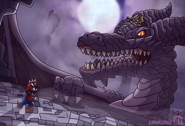 Wrath of the Ruined Dragon by EndangeredCDs