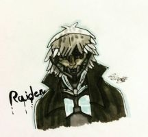 MGS4 Raiden by moondaneka