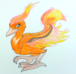 Moltres by GluryTheUnown