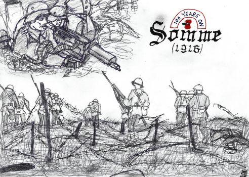 Somme 100 Years On by JMK-Prime