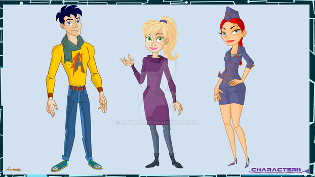 F V Characters by altarisart
