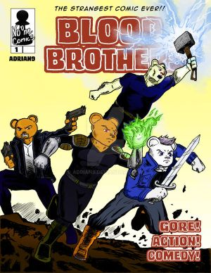 Blood Brothers 1 cover