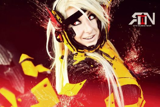 Reverse Flash cosplay by Its-Raining-Neon
