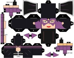 CubeeCraft DC Super Heroes Huntress by handita2006