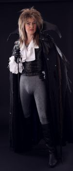 Jareth the Goblin King (David Bowie in Labyrinth) by MagpieLaughs