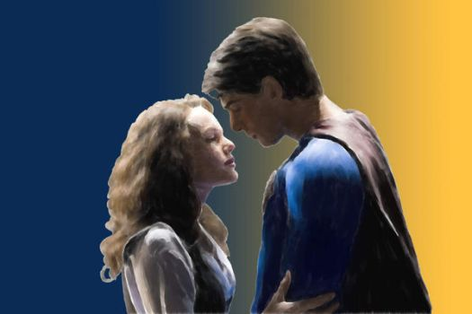 Superman and Lois Lane by CaliAli16