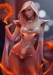 EmmaFrost - Phoenix Force by SourAcid