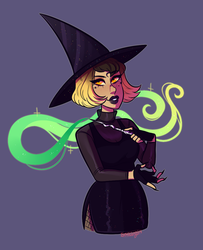 OC: I put a spell on you by sariasong64