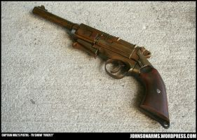 Captain Mal's Pistol Replica - TV Show FireFly by JohnsonArmsProps