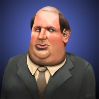 Kevin Malone - The Office by forbesrobertson