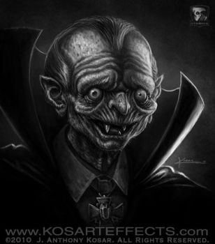 Warmup 12-9-10 OldVampire BW by KOSARTeffects