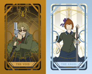 AATRV: Tarot Cards 2 by HereticEidolon