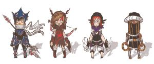 Generic RPG Roughs by supahbuttahtoast