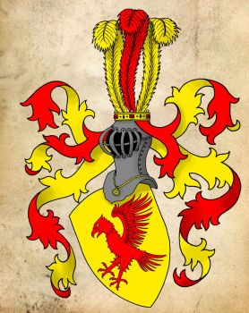 Coat of Arms - Squire of Ginsberg-Gruenbach by BenGunI