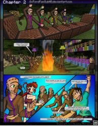 AR - Minecraft: The Awakening - Comic Ch2 P33 by OxFordFanSUbHD