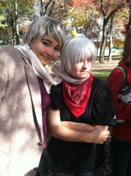 Prussia x Russia by WolfishHeart