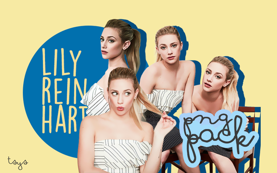 PNG PACK 01 | LILI REINHART by toseeyoursmile