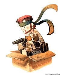 Solid Snake by Pocketowl