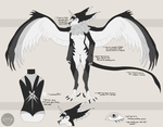 Raven Wings - Custom Design [LARGE FILE] by pathogenss
