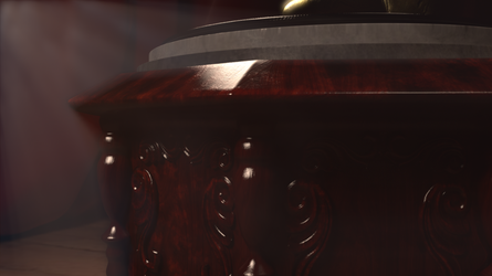 Final Render CG Antique Gramophone 03 by BethsFienneArt