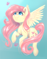 Fluttershy by TheFluffyVixen