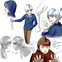 Jack Frost scribbles by OCTISquad