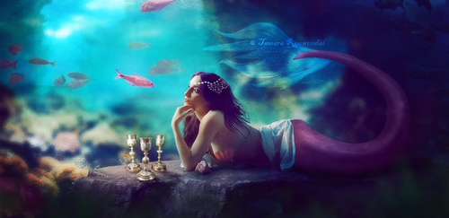Mermaid Conversation by tamaraR