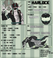 Harlock relationship form by SweetLunar