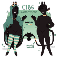 CIBE 2018 REF by monsterkitties