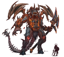 Giant-Demon by Davesrightmind