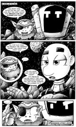 Awkward Tuesday Theater in Space 07 by drakefenwick