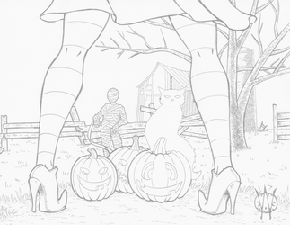 Spooky Brume (pencils) by 1-cwc-1