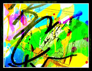 Modern times a Digital Abstract Artwork by MushroomBrain