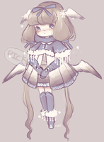 Set Price Winter Dove Adopt (Closed) by PickleAdopts
