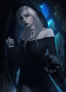 Dark Modern Witch by imGuss
