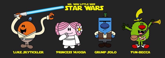 Mr. Men Star Wars Part 1 by KatieGirlsForever