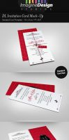 DL Invitation Card Mock-Up by idesignstudio