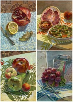 Study still lifes by JuliaTar