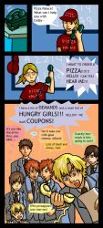 Ouran: Pizza by jam2599