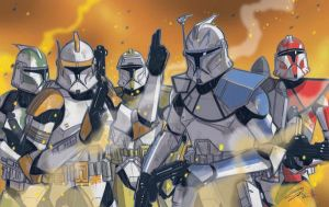 Clone Commanders by Hodges-Art